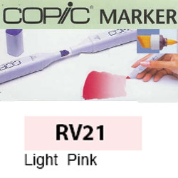 ROTULADOR <b>COPIC MARKER 'RV21' LIGHT PINK</b>
