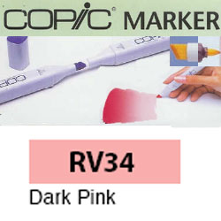 ROTULADOR <b>COPIC MARKER 'RV34' DARK PINK</b>