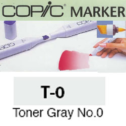 ROTULADOR <b>COPIC MARKER 'T00' TONER GRAY</b>