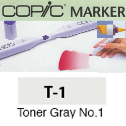 ROTULADOR <b>COPIC MARKER 'T01' TONER GRAY</b>