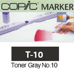 ROTULADOR <b>COPIC MARKER 'T10' TONER GRAY</b>