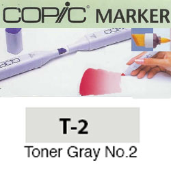 ROTULADOR <b>COPIC MARKER 'T02' TONER GRAY</b>