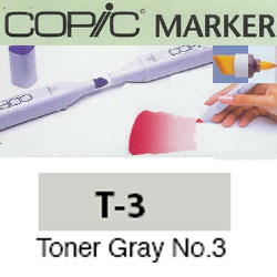ROTULADOR <b>COPIC MARKER 'T03' TONER GRAY</b>