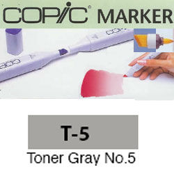 ROTULADOR <b>COPIC MARKER 'T05' TONER GRAY</b>