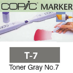 ROTULADOR <b>COPIC MARKER 'T07' TONER GRAY</b>