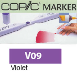 ROTULADOR <b>COPIC MARKER 'V09' VIOLET</b>