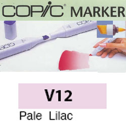 ROTULADOR <b>COPIC MARKER 'V12' PALE LILAC</b>