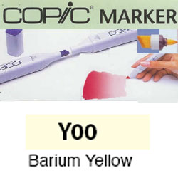ROTULADOR <b>COPIC MARKER 'Y00' BARIUM YELLOW</b>