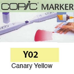 ROTULADOR <b>COPIC MARKER 'Y02' CANARY YELLOW</b>
