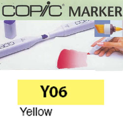 ROTULADOR <b>COPIC MARKER 'Y06' YELLOW</b>