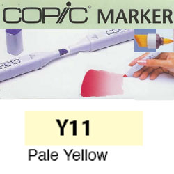 ROTULADOR <b>COPIC MARKER 'Y11' PALE YELLOW</b>