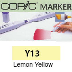 ROTULADOR <b>COPIC MARKER 'Y13' LEMON YELLOW</b>
