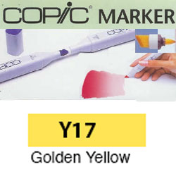 ROTULADOR <b>COPIC MARKER 'Y17' GOLDEN YELLOW</b>