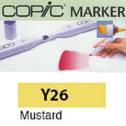 ROTULADOR <b>COPIC MARKER 'Y26' MUSTARD</b>