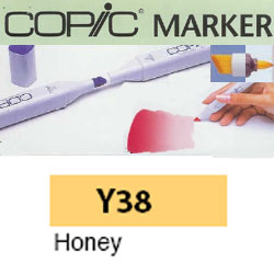 ROTULADOR <b>COPIC MARKER 'Y38' HONEY</b>
