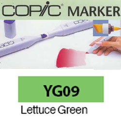 ROTULADOR <b>COPIC MARKER 'YG09' LETTUCE GREEN</b>