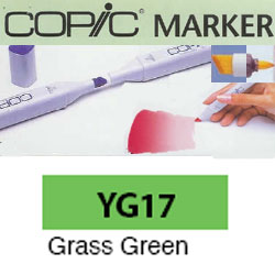 ROTULADOR <b>COPIC MARKER 'YG17' GRASS GREEN</b>