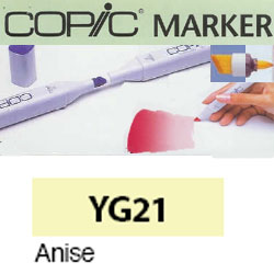 ROTULADOR <b>COPIC MARKER 'YG21' ANISE</b>