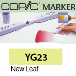 ROTULADOR <b>COPIC MARKER 'YG23' NEW LEAF</b>