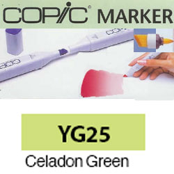 ROTULADOR <b>COPIC MARKER 'YG25' CELADON GREEN</b>