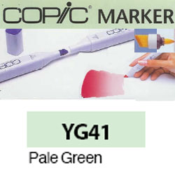 ROTULADOR <b>COPIC MARKER 'YG41' PALE GREEN</b>