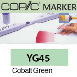 ROTULADOR <b>COPIC MARKER 'YG45' COBALT GREEN</b>