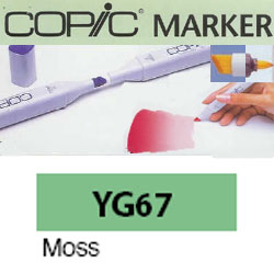 ROTULADOR <b>COPIC MARKER 'YG67' MOSS</b>