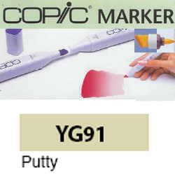 ROTULADOR <b>COPIC MARKER 'YG91' PUTTY</b>