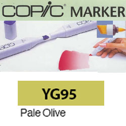 ROTULADOR <b>COPIC MARKER 'YG95' PALE OLIVE</b>