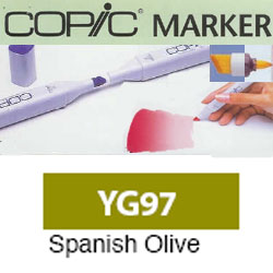 ROTULADOR <b>COPIC MARKER 'YG97' SPANISH OLIVE</b>