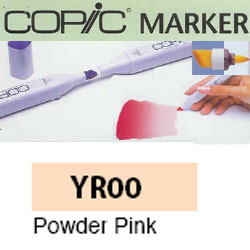 ROTULADOR <b>COPIC MARKER 'YR00' POWDER PINK</b>