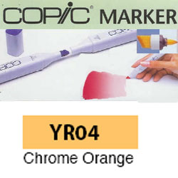 ROTULADOR <b>COPIC MARKER 'YR04' CHROME ORANGE</b>
