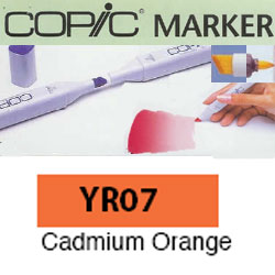 ROTULADOR <b>COPIC MARKER 'YR07' CADMIUM ORANGE</b>