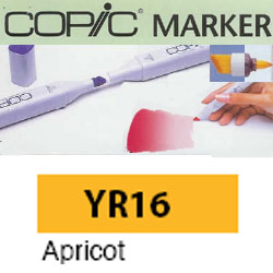 ROTULADOR <b>COPIC MARKER 'YR16' APRICOT</b>