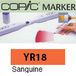 ROTULADOR <b>COPIC MARKER 'YR18' SANGUINE</b>