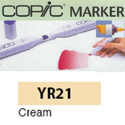 ROTULADOR <b>COPIC MARKER 'YR21' CREAM</b>