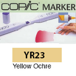 ROTULADOR <b>COPIC MARKER 'YR23' YELLOW OCHRE</b>