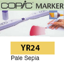 ROTULADOR <b>COPIC MARKER 'YR24' PALE SEPIA</b>