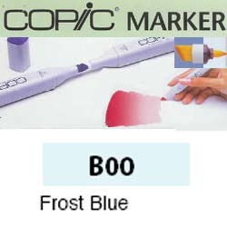 ROTULADOR <b>COPIC MARKER 'B00' FROST BLUE</b>