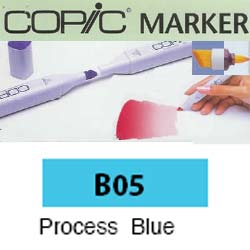 ROTULADOR <b>COPIC MARKER 'B05' PROCESS BLUE</b>