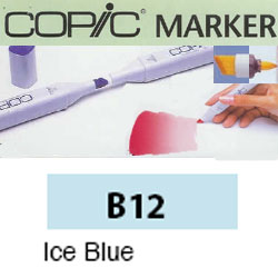 ROTULADOR <b>COPIC MARKER 'B12' ICE BLUE</b>