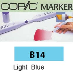 ROTULADOR <b>COPIC MARKER 'B14' LIGHT BLUE</b>