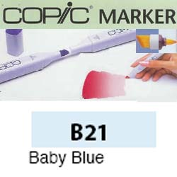 ROTULADOR <b>COPIC MARKER 'B21' BABY' BLUE</b>