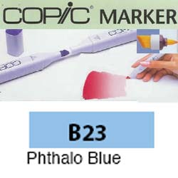 ROTULADOR <b>COPIC MARKER 'B23' PHTALO BLUE</b>