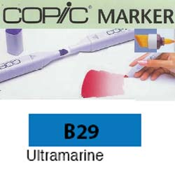 ROTULADOR <b>COPIC MARKER 'B29' ULTRAMARINE</b>