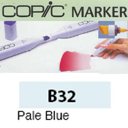 ROTULADOR <b>COPIC MARKER 'B32' PALE BLUE</b>