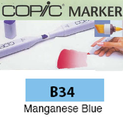 ROTULADOR <b>COPIC MARKER 'B34' MANGANESE BLUE</b>