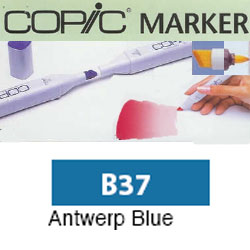 ROTULADOR <b>COPIC MARKER 'B37' ANTWERP BLUE</b>