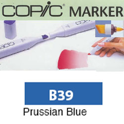 ROTULADOR <b>COPIC MARKER 'B39' PRUSSIAN BLUE</b>