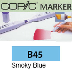 ROTULADOR <b>COPIC MARKER 'B45' SMOKY BLUE</b>